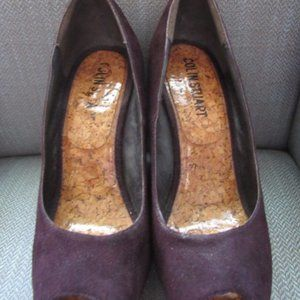 Colin Stuart brown/cork wedges